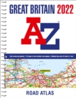 Great Britain A-Z Road Atlas 2022 (A4 Spiral) - Book