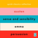 The Jane Austen Collection: Sense and Sensibility, Emma, Persuasion (Argo Classics) - eAudiobook