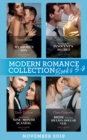 Modern Romance November 2019 Books 5-8: Claiming My Hidden Son (The Notorious Greek Billionaires) / Unwrapping the Innocent's Secret / Bound by Their Nine-Month Scandal / Bride Behind the Billion-Doll - eBook