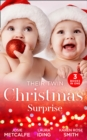 Their Twin Christmas Surprise: Twins for a Christmas Bride / Expecting a Christmas Miracle / Twins Under His Tree (Mills & Boon M&B) - eBook