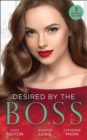 Desired By The Boss: Behind the Billionaire's Guarded Heart / Behind Boardroom Doors / His Secretary's Little Secret (Mills & Boon M&B) - eBook