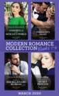 Modern Romance March 2020 Books 1-4: Cinderella in the Sicilian's World / Proof of Their Forbidden Night / The Return of Her Billionaire Husband / Revelations of a Secret Princess - eBook