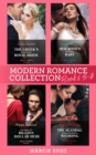 Modern Romance March 2020 Books 5-8: The Greek's Duty-Bound Royal Bride / Her Boss's One-Night Baby / Demanding His Billion-Dollar Heir / The Scandal Behind the Italian's Wedding - eBook