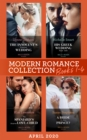 Modern Romance April 2020 Books 1-4: The Innocent's Forgotten Wedding (Passion in Paradise) / His Greek Wedding Night Debt / The Spaniard's Surprise Love-Child / A Bride Fit for a Prince? (Mills & Boo - eBook