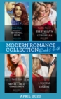 Modern Romance April 2020 Books 5-8: Kidnapped for His Royal Heir (Passion in Paradise) / The Italian's Pregnant Cinderella / My Shocking Monte Carlo Confession / A Scandal Made in London - eBook