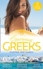 Gorgeous Greeks: Playing Her Games: Playing by the Greek's Rules (Puffin Island) / Changing Constantinou's Game / Falling For Dr Dimitriou - eBook