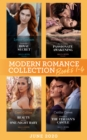 Modern Romance June 2020 Books 1-4: Cinderella's Royal Secret / His Innocent's Passionate Awakening / Beauty and Her One-Night Baby / Claimed in the Italian's Castle - eBook