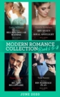 Modern Romance June 2020 Books 5-8: Expecting His Billion-Dollar Scandal (Once Upon a Temptation) / Shy Queen in the Royal Spotlight / Taming the Big Bad Billionaire / The Flaw in His Marriage Plan - eBook