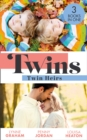 Twins: Twin Heirs: The Sheikh's Secret Babies (Bound by Gold) / Marriage: To Claim His Twins / Pregnant with His Royal Twins - eBook