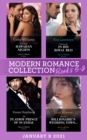 Modern Romance January 2021 B Books 5-8: Forbidden Hawaiian Nights (Secrets of the Stowe Family) / Waking Up in His Royal Bed / The Playboy Prince of Scandal / After the Billionaire's Wedding Vows... - eBook