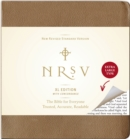 NRSV, XL Edition, Bonded Leather, Brown - Book