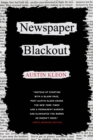 Newspaper Blackout - Book