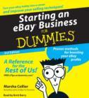 Starting an E-Bay Business for Dummies - eAudiobook