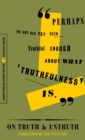 On Truth and Untruth : Selected Writings - eBook