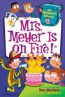 My Weirdest School #4: Mrs. Meyer Is on Fire! - eBook