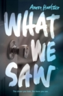 What We Saw - Book