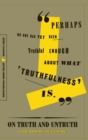 On Truth and Untruth : Selected Writings - Book