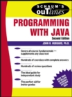 Schaum's Outline of Programming with Java - Book