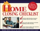 Home Closing Checklist - eBook