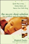 The No-Cry Sleep Solution for Toddlers and Preschoolers: Gentle Ways to Stop Bedtime Battles and Improve Your Child's Sleep - Book