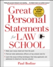 Great Personal Statements for Law School - Book