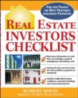 Real Estate Investor's Checklist - Book