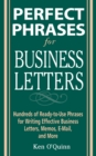 Perfect Phrases for Business Letters - Book