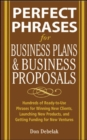 Perfect Phrases for Business Proposals and Business Plans - Book