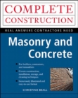 Masonry and Concrete - eBook