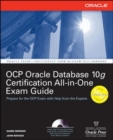 Oracle Database 10g OCP Certification All-In-One Exam Guide - eBook