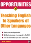 Opportunities in Teaching English to Speakers of Other Languages - eBook