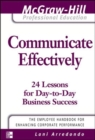 Communicate Effectively - eBook