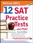 McGraw-Hill's 12 SAT Practice Tests with PSAT, 2ed - eBook
