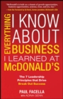 Everything I Know About Business I Learned at McDonalds - eBook