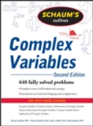 Schaum's Outline of Complex Variables, 2ed - Book