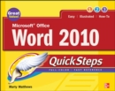 Microsoft Office Word 2010 QuickSteps - eBook