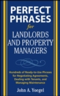 Perfect Phrases for Landlords and Property Managers - eBook