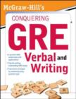 McGraw-Hill's Conquering the New GRE Verbal and Writing - eBook