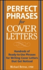 Perfect Phrases for Cover Letters - eBook