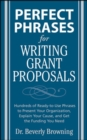 Perfect Phrases for Writing Grant Proposals - eBook
