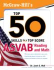 McGraw-Hill's Top 50 Skills For A Top Score: ASVAB Reading and Math : ASVAB Reading and Math with CD-ROM - eBook