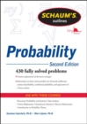 Schaum's Outline of Probability, Second Edition - Book