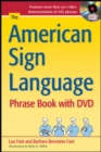 The American Sign Language Phrase Book with DVD - Book