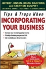 Tips & Traps When Incorporating Your Business - eBook