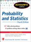 Schaum's Outline of Probability and Statistics - Book