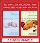 No-Cry Sleep Solutions for Babies through Preschoolers (EBOOK BUNDLE) - eBook