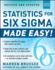 Statistics for Six Sigma Made Easy! Revised and Expanded Second Edition - Book