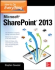 How to Do Everything Microsoft SharePoint 2013 : Microsoft SharePoint 2013 - eBook