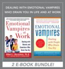 Dealing with Emotional Vampires Who Drain You in Life and at Work (EBOOK BUNDLE) - eBook