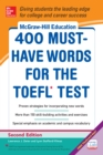 McGraw-Hill Education 400 Must-Have Words for the TOEFL, 2nd Edition - eBook